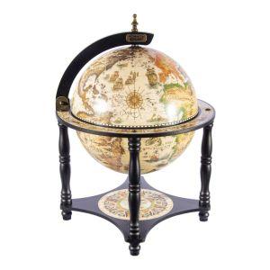 Купить Глобус-бар Русские подарки 47201 напольный Brigant 40*40*57 см