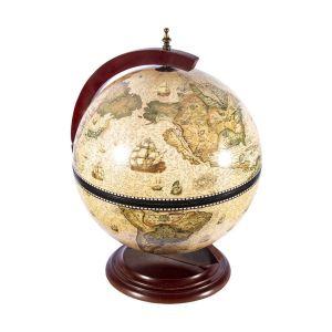 Купить Глобус-бар Русские подарки 47203 настольный Brigant Сокровища древнего мира 41*41*56 см