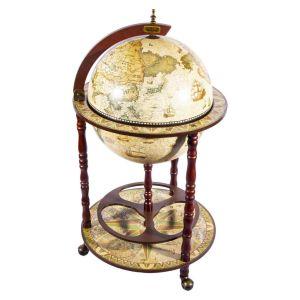 Купить Глобус-бар Русские подарки 47204 напольный Brigant Сокровища древнего мира 50*50*90 см