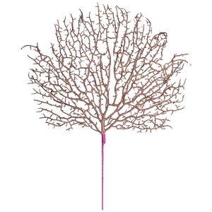 Купить Декоративное изделие Арти М 256-185 Ветка 60 см цвет розовое золото