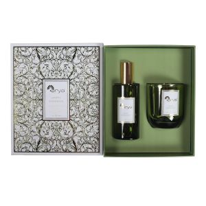 Купить Набор ароматитизаторов АРИЯ Happy Gardenia 100 мл (свеча и освежитель воздуха)