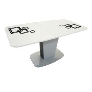 Купить Стол Сакура Киото-21 раздвижной цвет белый/фото 135