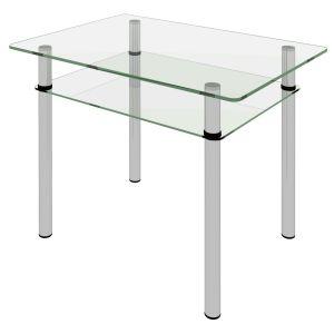 Купить Стол Сакура Киото-27 цвет стекло бесцветное (2-1)/D50