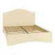 Кровать Компасс АС-113К без ламелей и опор + АС-113 Ассоль плюс цвет ваниль