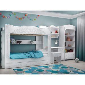 Купить Кровать Компасс АС-25 Ассоль цвет белое дерево