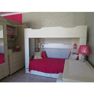 Купить Кровать Компасс АС-25 Ассоль плюс цвет ваниль