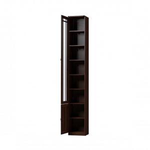 Купить Шкаф ГМФ ШК311 левый Шерлок цвет орех шоколадный