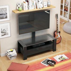 Купить Стойка под телевизор Holder TV-34110 черный мат.+черн