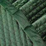 Покрывало АРИЯ Matte 250*260 и 2 наволочки 50*70 цвет зелёный