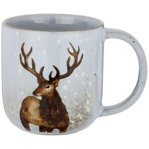 Купить Кружка Арти М 739-105 14*9,5*10,5 см 550 мл цвет серый/коричневый