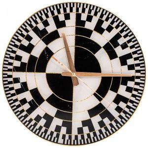 Купить Настенные часы Арти М 108-127 Модерн 36,7*36,7*5,5 см цвет белый/чёрный/золото