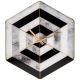 Настенные часы Арти М 108-131 Модерн 49,5*43,5*6 см цвет серый/чёрный