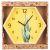 Купить Настенные часы Арти М 220-406 Lovely home 31 см цвет желтый/зеленый