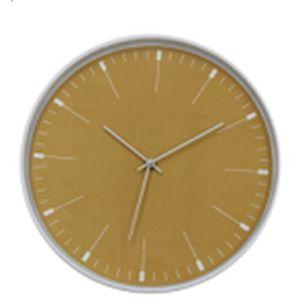 Купить Настенные часы Русские подарки RP 600-701 Оранж D30,2 см цвет жёлтый