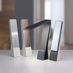Купить Светильник ЕвроСвет TL90450 Desk настольный с зарядкой цвет чёрный/серый