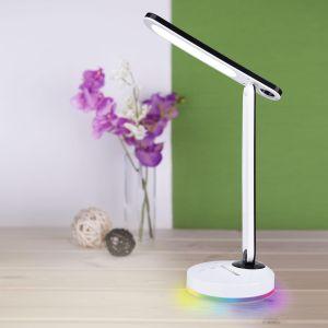 Купить Светильник ЕвроСвет TL90480 Flip настольный с аккумулятором цвет белый/черный