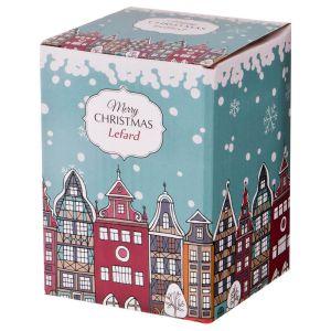 Купить Банка для сыпучих продуктов Арти М 116-503 Рождественское чудо Бантик 8*6*12 см 350 мл