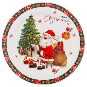 Купить Блюдо Арти М 358-1479 Merry Christmas 20*20*2 см