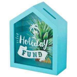 Купить Копилка Арти М 124-139 Holiday fund 16*20*7 см цвет бирюзовый