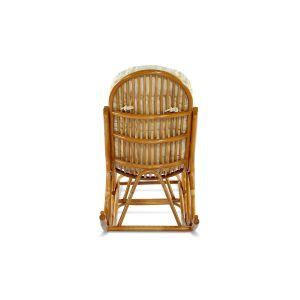 Купить Кресло-качалка ЭкоДизайн 05/17KD с подножкой цвет мёд
