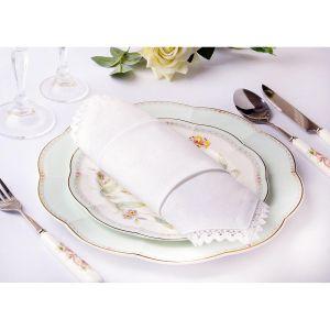 Купить Набор салфеток Арти М 828-120 (6 шт.) 40*40 см цвет белый