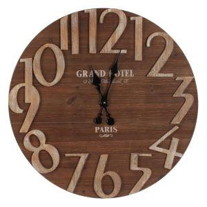Купить Настенные часы РЕМЕКО 714496 70*4*70 см цвет дерево/бежевый