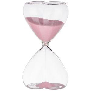 Купить Песочные часы Арти М 862-270 Сердце 8,7*16 см цвет розовый