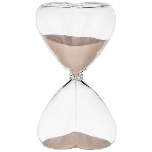 Купить Песочные часы Арти М 862-271 Сердце 6,5*12 см цвет бежевый