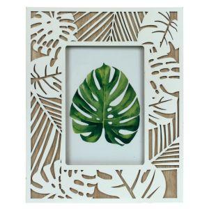 Купить Фоторамка РЕМЕКО 726957 для фото 10*15 18*1*23 см цвет дерево/белый