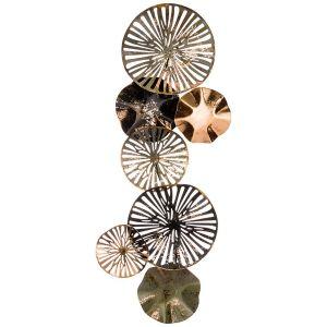 Купить Панно Арти М 680-118 Модный акцент 25,4*70,5*5,7 см цвет чёрный/зелёный/золото
