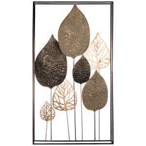 Купить Панно Арти М 680-120 Модный акцент 50,2*90,8*5,7 см цвет чёрный/бежевый/золото