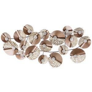 Купить Панно Арти М 680-127 Модный акцент 133,4*62,2*10,2 см цвет бежевый/золото