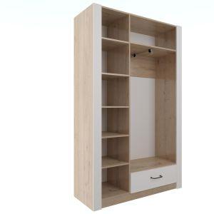 Купить Шкаф Комфорт-S М2 Ева 5 цвет дуб ирландский/белый матовый