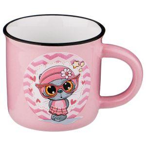 Купить Кружка Арти М 155-314 Милые котята 180 мл 7,5*6,8 см цвет розовый
