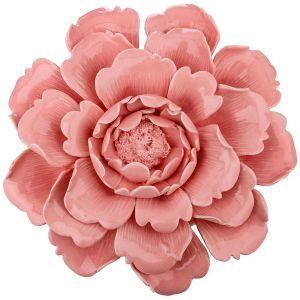 Купить Панно Арти М 146-1286 Пион 25,6*25,6*7,5 см цвет розовый