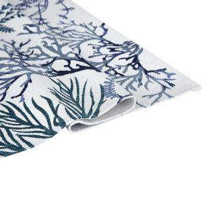 Купить Коврик АРИЯ Alvin 65*115 см цвет бело-синий