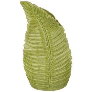 Купить Ваза Арти М 146-1389 Папоротник 22*11*36,5 см цвет зелёный