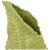 Ваза Арти М 146-1389 Папоротник 22*11*36,5 см цвет зелёный зелёный