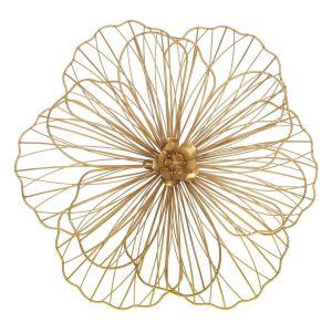 Купить Панно РЕМЕКО 714612 Цветок 47*10*49 см цвет золото