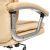 Кресло компьютерное TetChair Softy Lux кож/зам, бежевый, 36-34