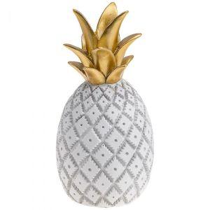 Купить Декоративное изделие Арти М 537-367 11*11*23 см цвет белый/золотой