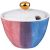 Купить Сахарница Арти М 189-217 Парадиз 185 мл цвет голубой/розоавй/зелёный