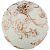 Фигурка декоративная Арти М 450-736 Шар 10 см цвет белый/золотой белый/золотой