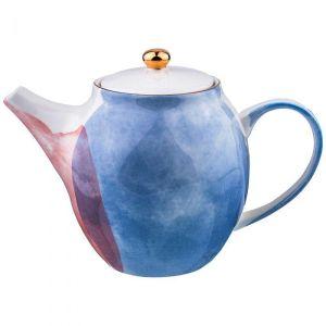 Купить Чайник заварочный Арти М 189-218 Парадиз1000 мл цвет голубой/розоавй/зелёный