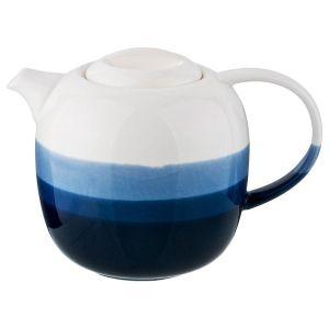 Купить Чайник заварочный Арти М 189-226 Бристоль 800 мл цвет белый/синий/голубой