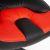 Кресло компьютерное TetChair Neo (1) кож/зам, черный/красный, 36-6/36-161