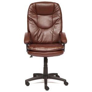Купить Кресло компьютерное TetChair Comfort LT цвет кож/зам, коричневый, 2 tone
