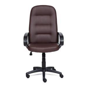 Купить Кресло компьютерное TetChair Devon цвет кож/зам, коричневый, 36-36