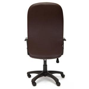 Купить Кресло компьютерное TetChair Devon цвет кож/зам, корич/корич перф., 36-36/36-36/06