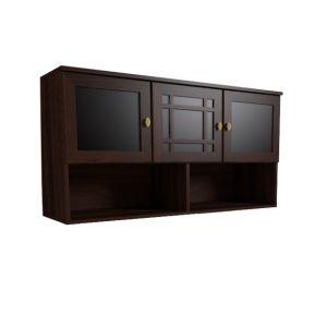 Купить Шкаф навесной ГМФ ШН04 Шерлок цвет орех шоколадный